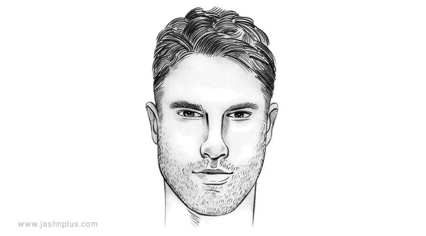 long hair - مدل موی مردانه برای انواع فرم صورت در میهمانی خاص