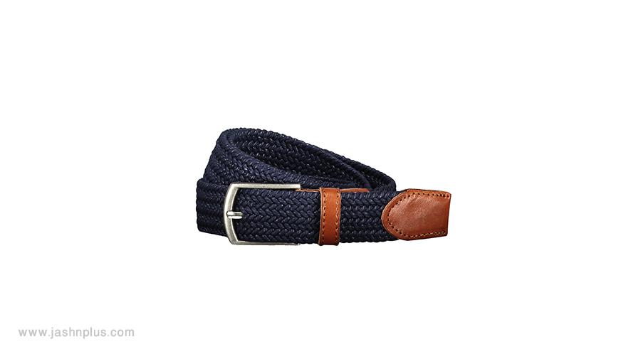 men belt 1 - ترکیب مردانه آبی و طوسی برای میهمانی شیک و جذاب شوید