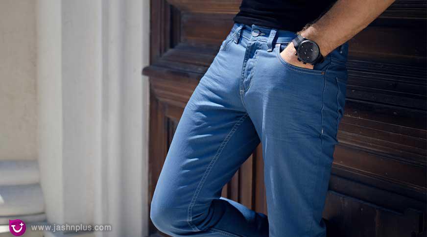 men blue jeans - مدل های لباس مردانه و اکسسوری جذاب برای میهمانی