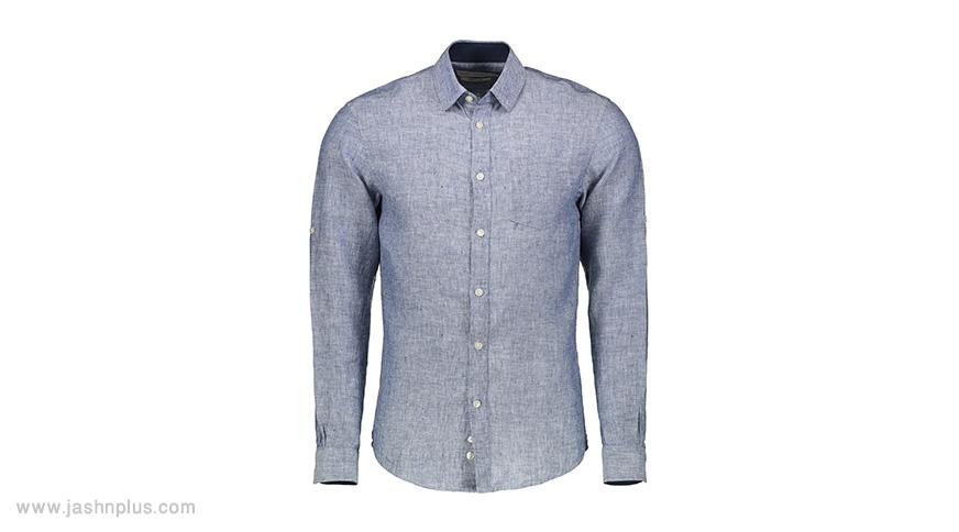 men blue shirt - ترکیب مردانه آبی و طوسی برای میهمانی شیک و جذاب شوید