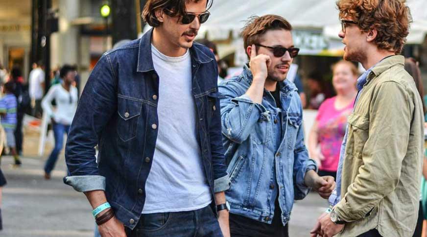 men denim style - مدل لباس مردانه برای آنکه در میهمانی ها جوان به نظر بیایید!