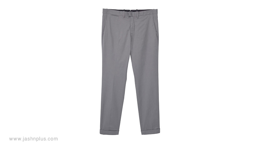 men grey pants - ترکیب مردانه آبی و طوسی برای میهمانی شیک و جذاب شوید