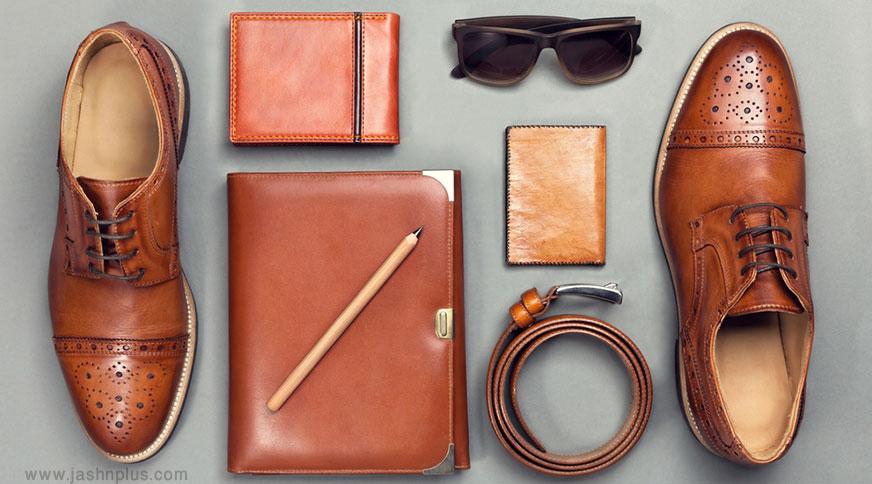 men leather accessories style - اکسسوریهای مردانه از کمربند چرم تا دکمه سر دست برای یک میهمانی با شکوه