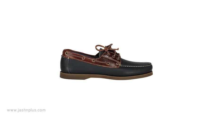 men leather shoes - ترکیب مردانه آبی و طوسی برای میهمانی شیک و جذاب شوید