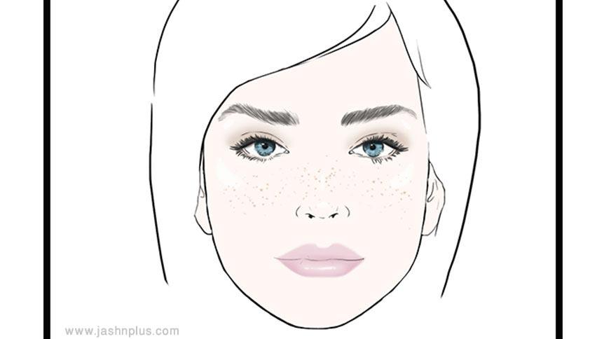 natural makeup - مدل آرایش شما در میهمانی چه چیزی دربارهتان میگوید؟