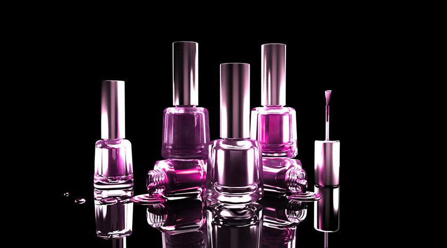 pastel dark purple nail polish - کدام رنگ لاک برای پوست شما در میهمانی جذاب تر است؟