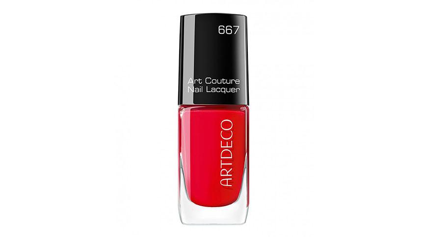 red nail polish artdeco - مدل ناخن هیجان انگیز برای میهمانی
