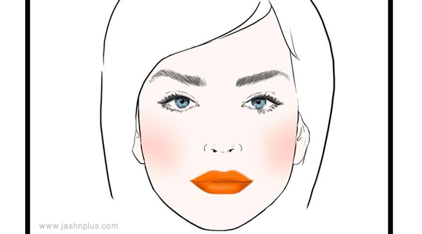 stained lips - مدل آرایش شما در میهمانی چه چیزی دربارهتان میگوید؟