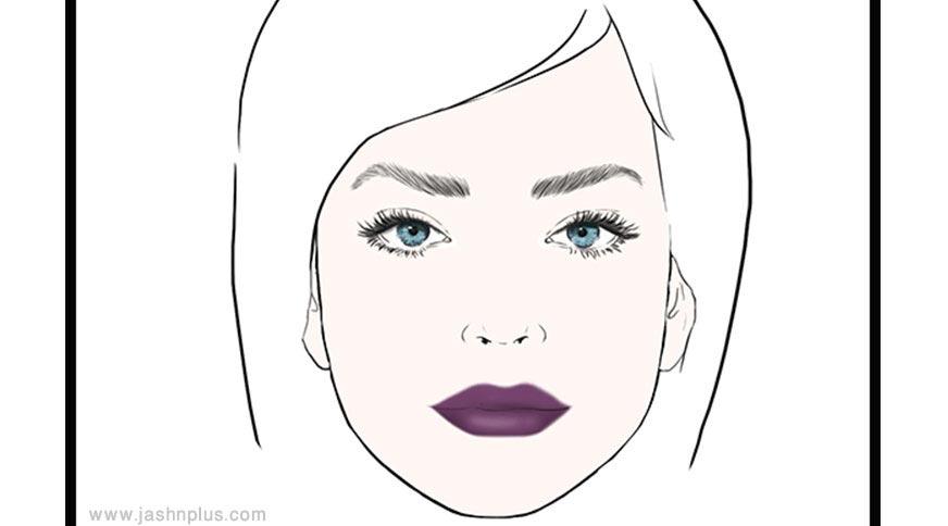 vamp lips - مدل آرایش شما در میهمانی چه چیزی دربارهتان میگوید؟