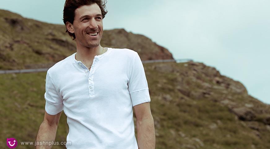 white shirt stylish men 1 - مدل لباس مردانه برای آنکه در میهمانی ها جوان به نظر بیایید!