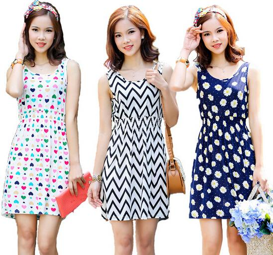wholesale 2015 new women summer dress colorful - چطور در میهمانی ها کم سن و سال تر و جوان تر به نظر برسیم؟