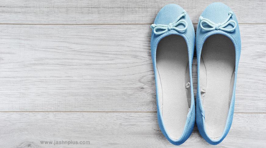 women ballet blue shoes - مدل صندل زنانه و کفش تابستانی برای میهمانی