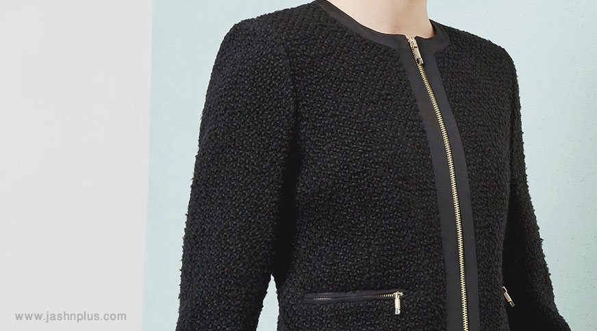 women black blazer 1 - پیشنهاد های لباس زنانه و اکسسوری برای میهمانی