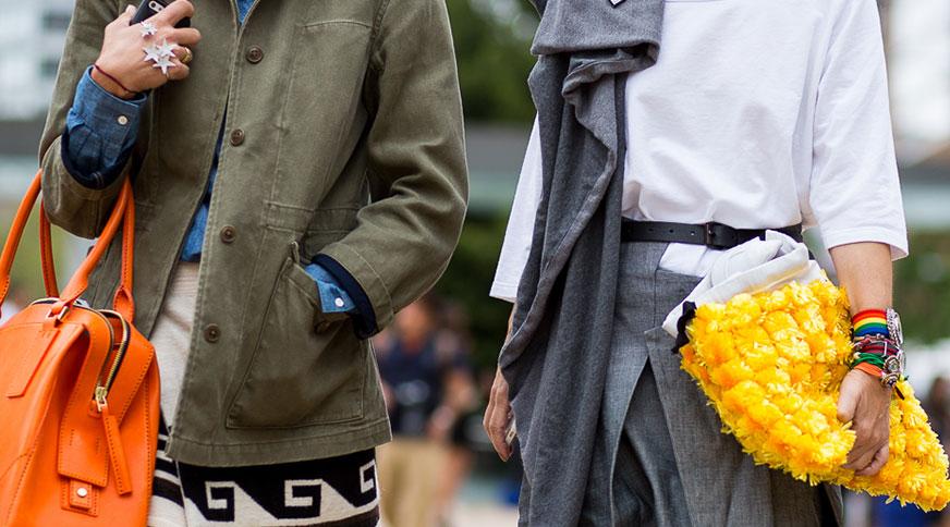women bold accessories - قد بلندها برای میهمانی کدام مدل لباس را بپوشند،کدام را نپوشند؟
