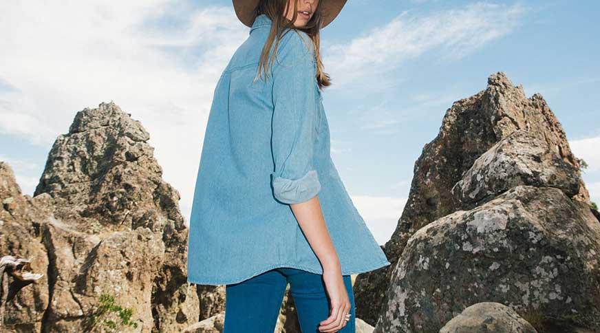 women denim style - قد بلندها برای میهمانی کدام مدل لباس را بپوشند،کدام را نپوشند؟