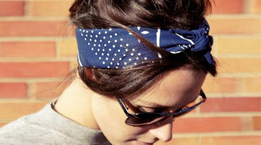 women headband - برای یک تیپ هنری در میهمانی