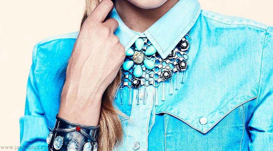 women jewelary - کیف و کفش و اکسسوری برای خانم های قد کوتاهها در میهمانی