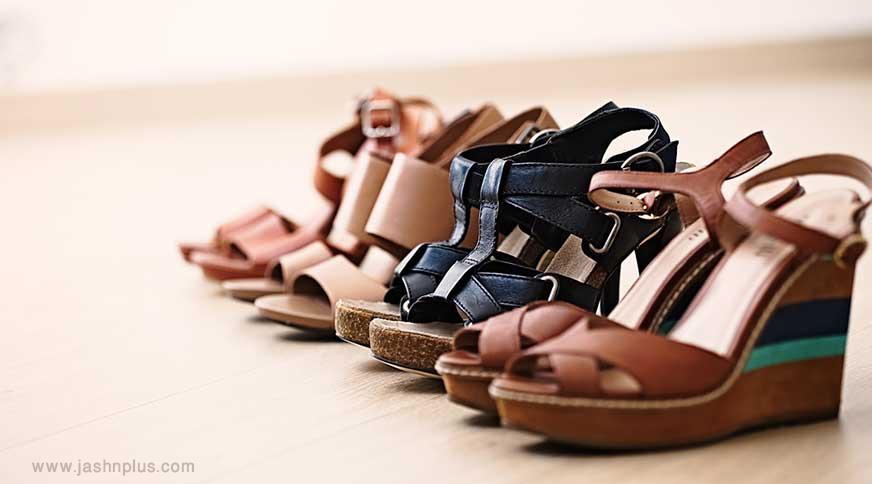 women wedge sandals - مدل صندل زنانه و کفش تابستانی برای میهمانی