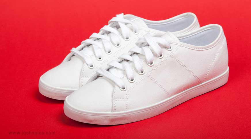 women white sneakers - مدل صندل زنانه و کفش تابستانی برای میهمانی