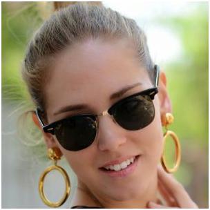 1 9 - برای انتخاب عینک آفتابی برای صورت های بیضی به چه نکاتی باید توجه نمود؟