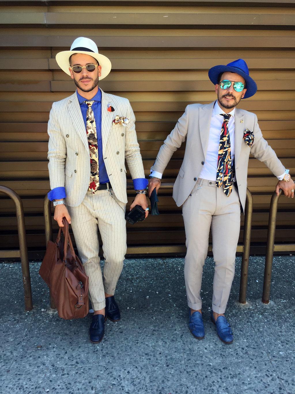 pitti people 2 - استایل مردانه جذاب برای مهمانی تابستانی