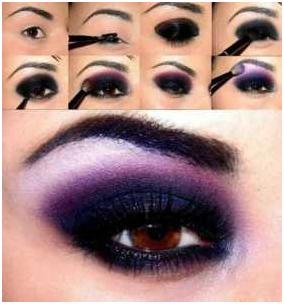3 3 - بهترین رنگ سایه چشم غلیظ برای رفتن به مهمانی