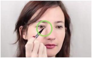 .png - آرایش چشم ریز را چگونه انجام دهیم تا چشم ها درشت نشان داده شود؟