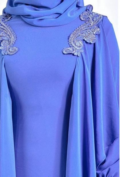 12 - لباس مجلسی پوشیده شیک و بلند برای مهمانی های مختلط