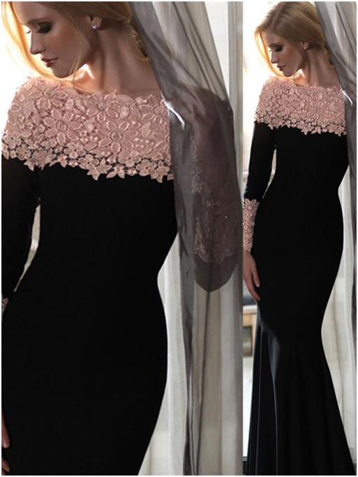 2 13 - جدیدترین مدل لباس مجلسی بلند شیک و زیبا به همراه تصاویر