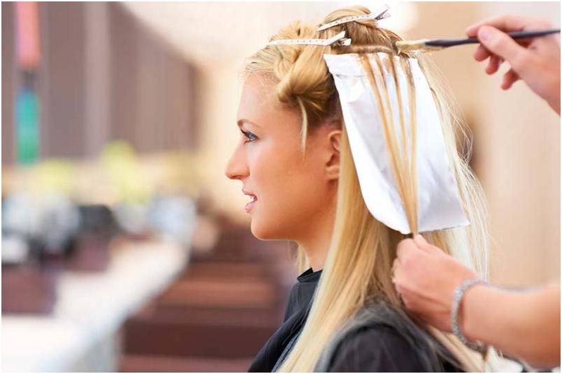 2 3 - برای داشتن رنگ مو متناسب با پوست در مهمانی چه باید کرد؟