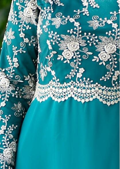 2 9 - لباس مجلسی پوشیده شیک و بلند برای مهمانی های مختلط