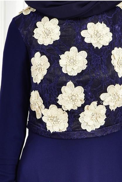 4 2 - لباس مجلسی پوشیده شیک و بلند برای مهمانی های مختلط
