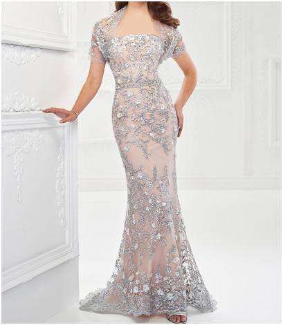 4 6 - جدیدترین مدل لباس مجلسی بلند شیک و زیبا به همراه تصاویر