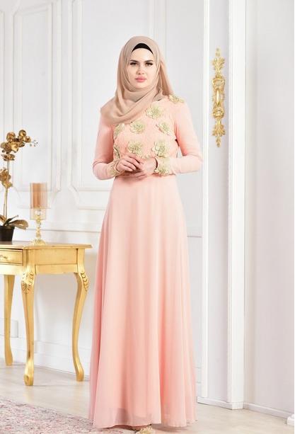 5 - لباس مجلسی پوشیده شیک و بلند برای مهمانی های مختلط