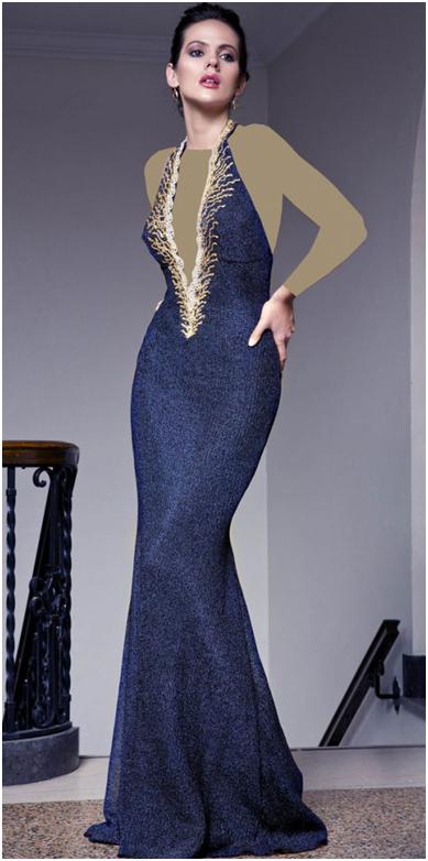 7 2 - جدیدترین مدل لباس مجلسی بلند شیک و زیبا به همراه تصاویر