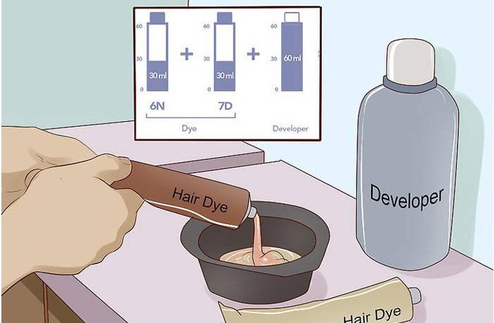 1 - چگونه نسبت استاندارد اکسیدان به رنگ مو را اندازه گیری کنیم؟