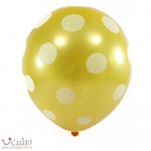 بادکنک تم تولد بزرگسال طلایی