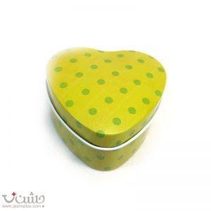 جعبه فلزی خالخالی سبز