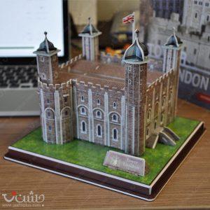 پازل سه بعدی بناهای تاریخی-برج لندن