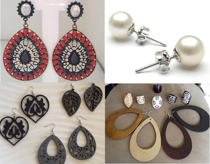 چه هدیه هایی زنان را خوشحال کنیم؟ earrings - چه هدیه ای زنانه برای خانم ها خوشحال کننده است؟