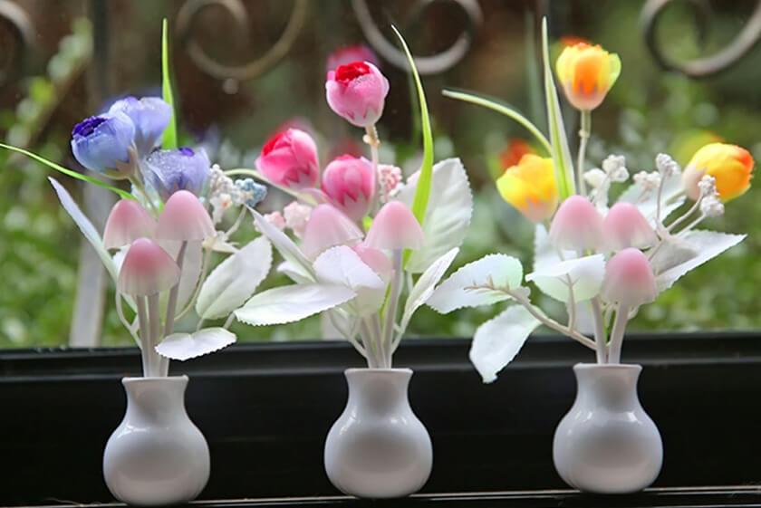 چه هدیه هایی زنان را خوشحال کنیم؟ flower pot - چه هدیه ای زنانه برای خانم ها خوشحال کننده است؟