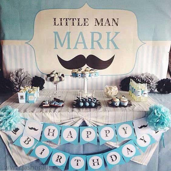 تولد سبیل1 1 - تم تولد سبیل یک تم جالب برای جشن تولدهای امروزی
