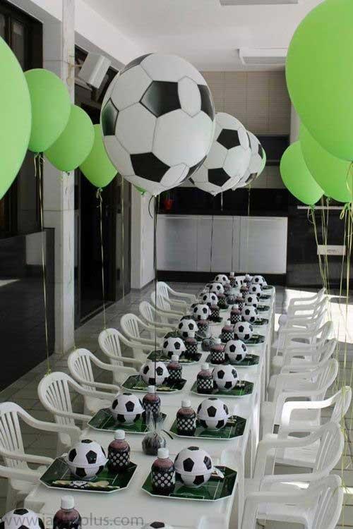 تولد فوتبالی۵ 1 - تم تولد فوتبالی یک تم فوقالعاده برای جشن تولد پسرانه