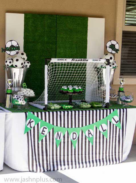 تولد فوتبالی23 - تم تولد فوتبالی یک تم فوقالعاده برای جشن تولد پسرانه