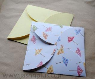 کارت دعوت تولد 2 - ایدهای خلاقانه برای تهیه کارت دعوت تولد در منزل