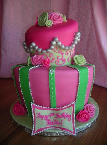 کیک تولد 14 - مدل کیک باحال تولدهای کودکانه