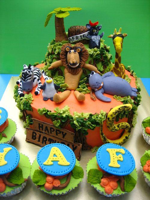 کیک تولد 5 - مدل کیک باحال تولدهای کودکانه