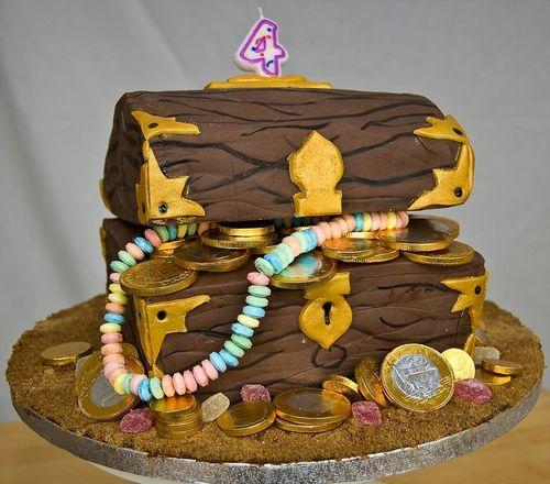 کیک تولد 9 1 - مدل کیک باحال تولدهای کودکانه