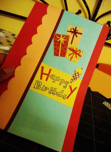 تولد 8 - برای دوستان خود کارت تبریک تولد درست کنید