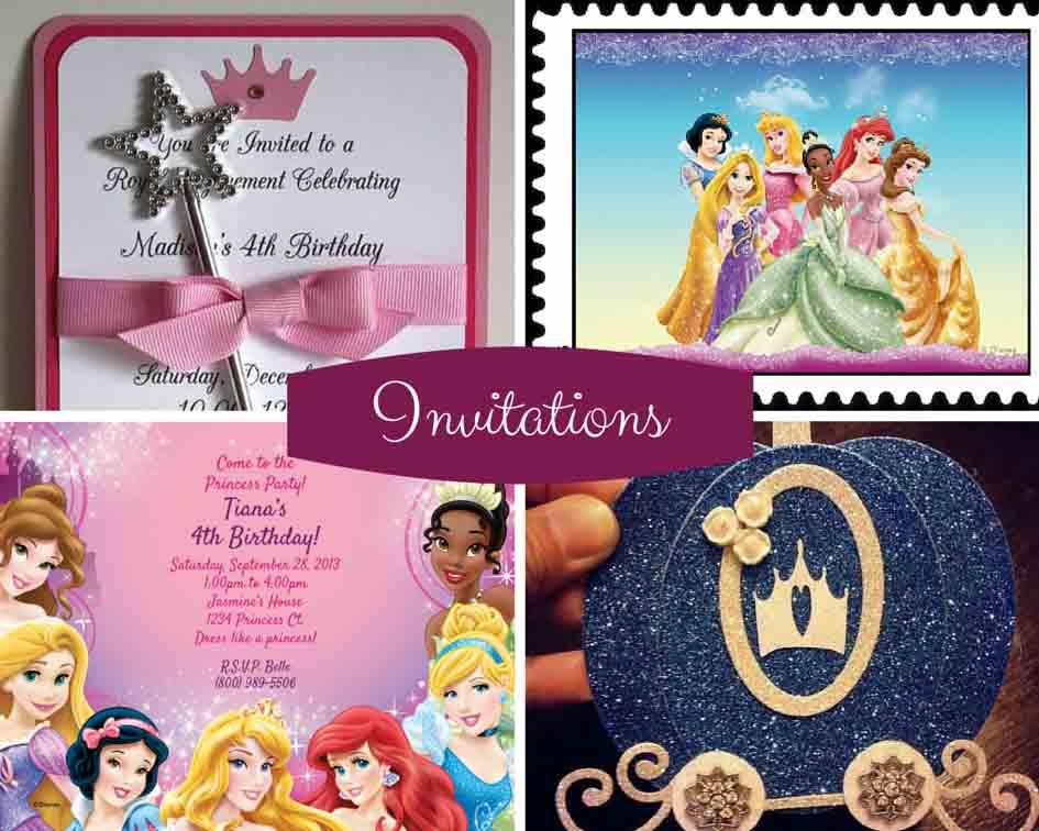 دعوت - جشن تولد دختر تان را مثل پرنسسها برگزار کنید